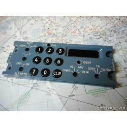 Panel Transpondeur (ATC) A320 REPLICA