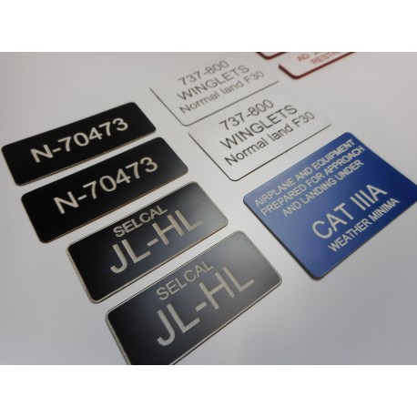 Stickers set for 737-800