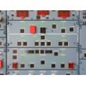 Panel Hydraulique/Fuel 40 VU